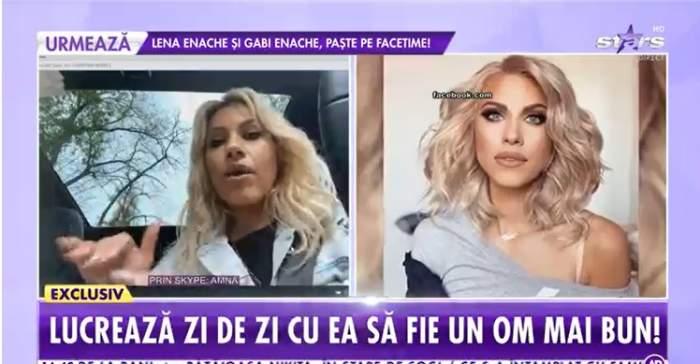 """Amna, lovită de ghinioane. Artista a izbucnit în lacrimi, la Showbiz Report """"Am obosit și eu"""" / VIDEO"""