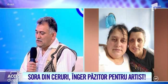 """Acces Direct. Ion Drăgan, sacrificiu suprem pentru sora pe moarte. Artisul și-a vândut tot ce a avea pentru a o salva: """"Speram să treacă mai repede"""" / VIDEO"""
