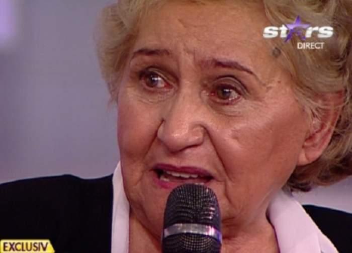 Gabi Luncă cu ochii în lacrimi, la Antena Stars.