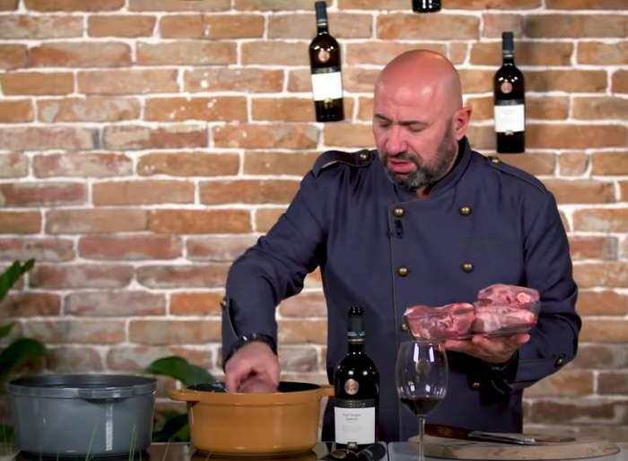 Rețeta de friptură de miel a lui chef Cătălin Scărlătescu. Celebrul bucătar dezvăluie secretul pe care puțini români îl știu / VIDEO