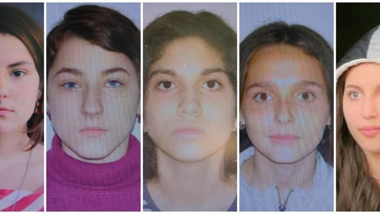 cele cinci fete dispărute