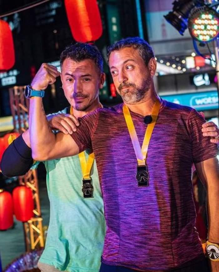 Sorin Bontea și Răzvan Fodor, după ce au câștigat Asia Express.