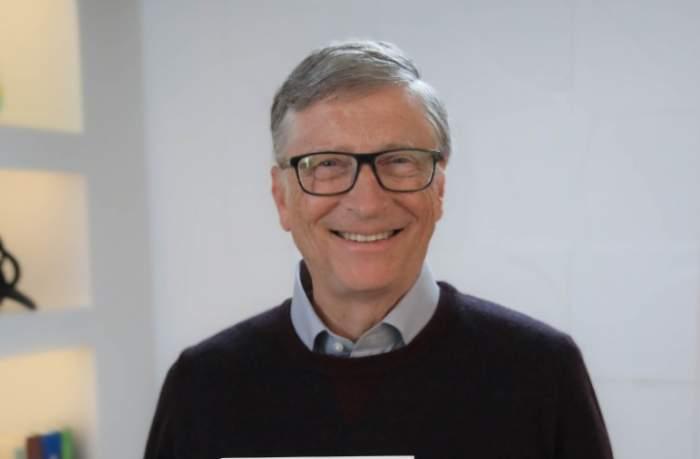 Bill Gates ala o lansare de carte