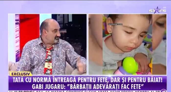 Gabi Jugaru a vorbit la Antena Stars despre familia lui