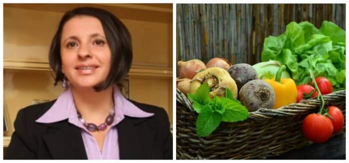 Lygia Alexandrescu a vorbit despre fieta bogata in legume pentru somn