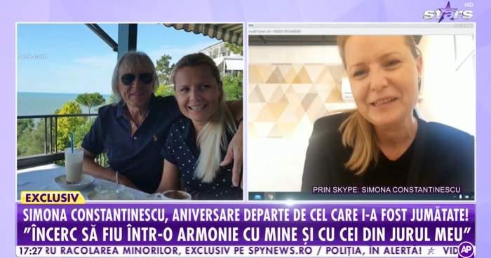 """Cum își serbează Simona Secrier ziua de naștere, la peste un an de la moartea lui Mihai Constantinescu: """"Nu prea îmi place"""" / VIDEO"""