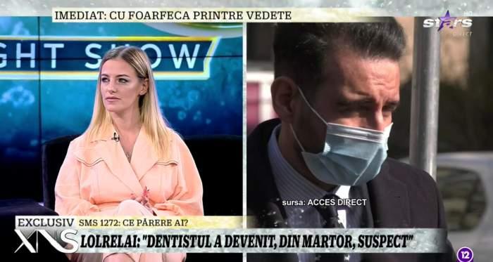 Lolrelai, noi dezvăluiri la Xtra Night Show, după ce a fost abuzată de stomatologul-violator! Bărbatului i s-a schimbat încadrarea / VIDEO