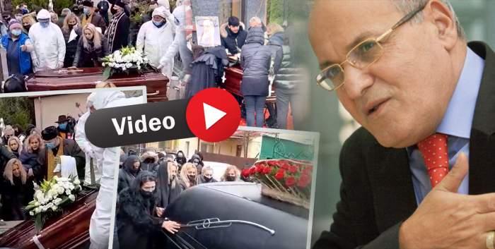 Nelu Ploieșteanua fost înmormântat. Regretatul artist își va dormi somnul de veci alături de fiul său, Mihăiță/ VIDEO