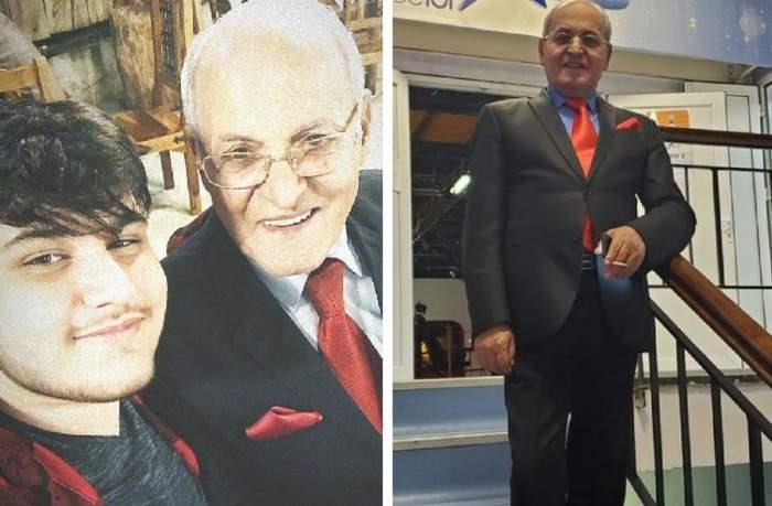 in poza din stanga Nelu Ploieșteanu si nepotul lui, iar in poza din dreapta Nelu Ploieșteanu la antena stars