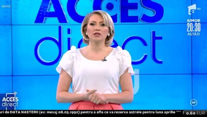 """Acces Direct. Mirela Vaida, noi detalii despre femeia care a atacat-o: """"Încadrarea juridică a fost schimbată"""". Ce se întâmplă cu dosarul"""