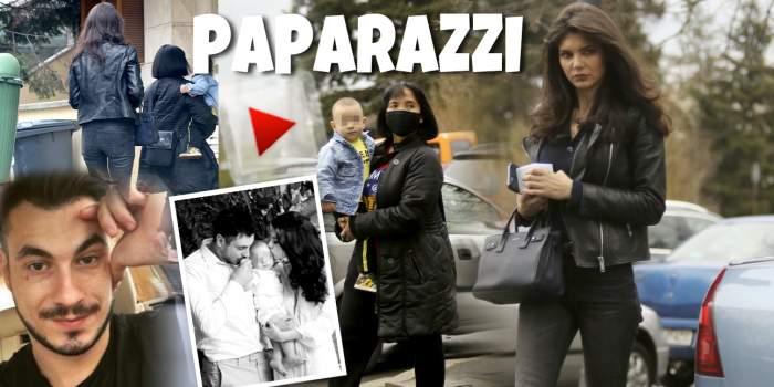 Imagini rare cu copilul Cristinei Ich și al lui Alex Pițurcă! Celebra influnceriță are mereu ajutor în creșterea celui mic / PAPARAZZI