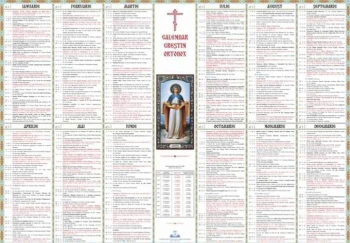 calendar ortodox 9 aprilie