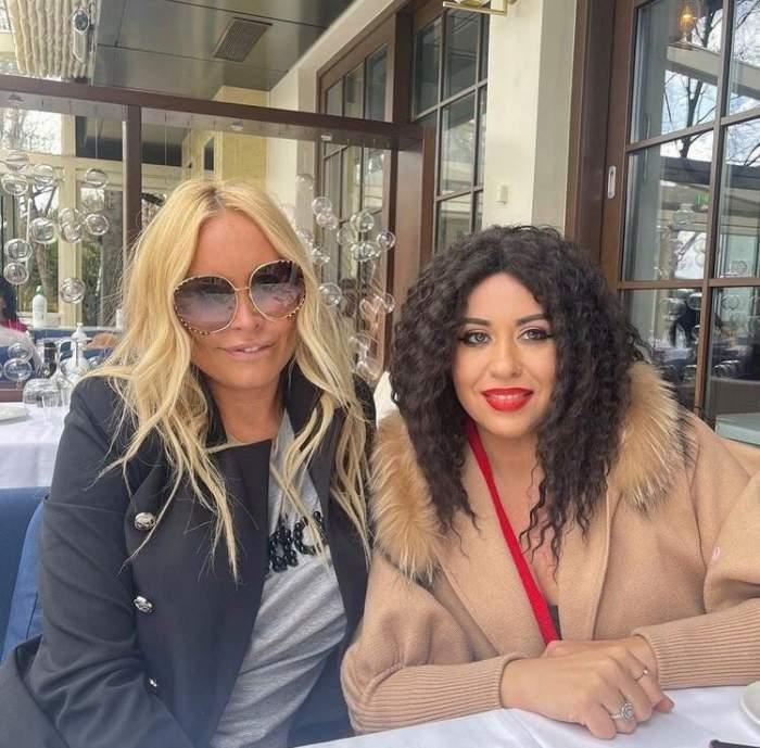 Vica Blochina și Oana Roman, apariție de senzație pe Instagram. Cum arată prânzul perfect pentru cele două prietene / FOTO