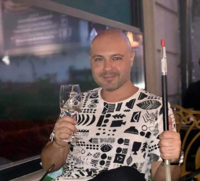 Mihai Mitoșeru la restaurant