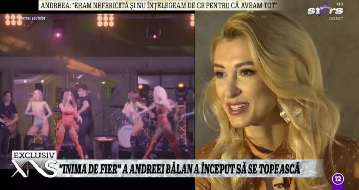 Andreea Balan a dat interviu la Xtra Night Show