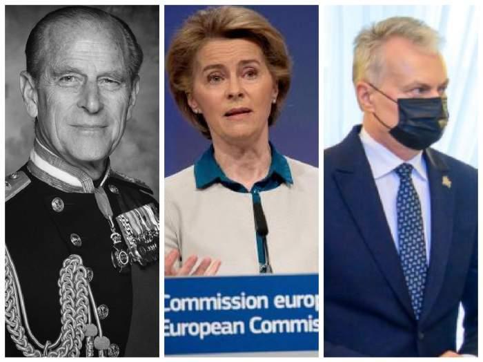 Prințul Philip și liderii Europei