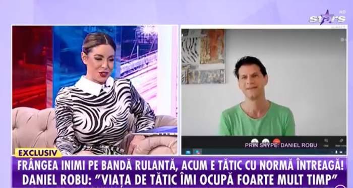 Daniel Robu, la Antena Stars