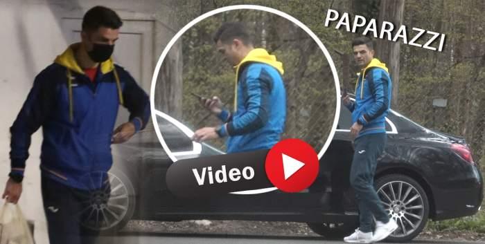 Florin Bratu pune sportul mereu pe primul loc! Fostul fotbalist își face antrenamentul, dar nu uită nici de cumpărături / PAPARAZI