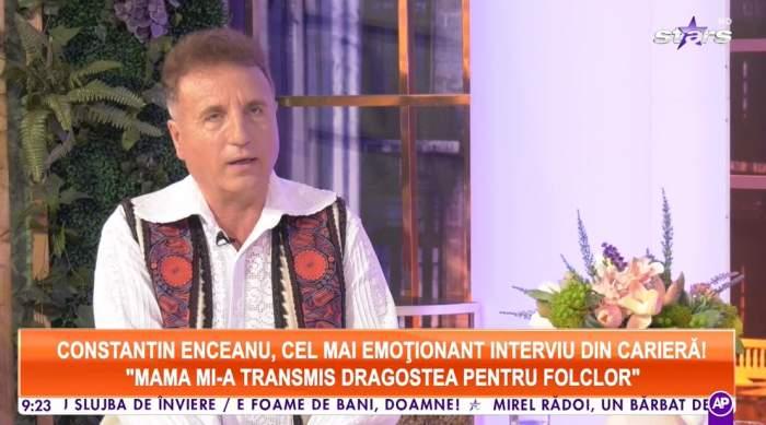Constantin Enceanu la Antena Stars