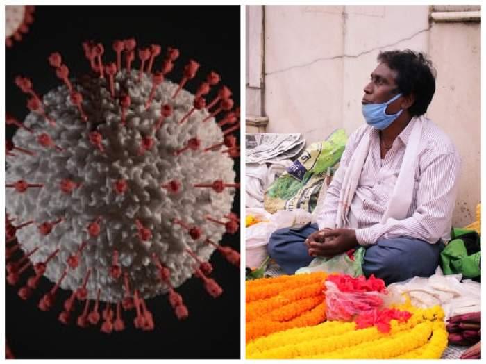 coronavirusulși un vânzător din India