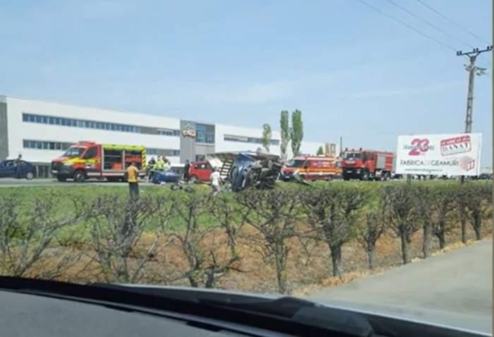 accident in timisoara