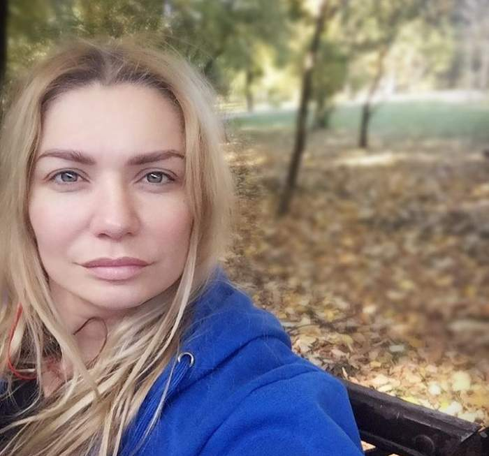 cristina cioran selfie afara
