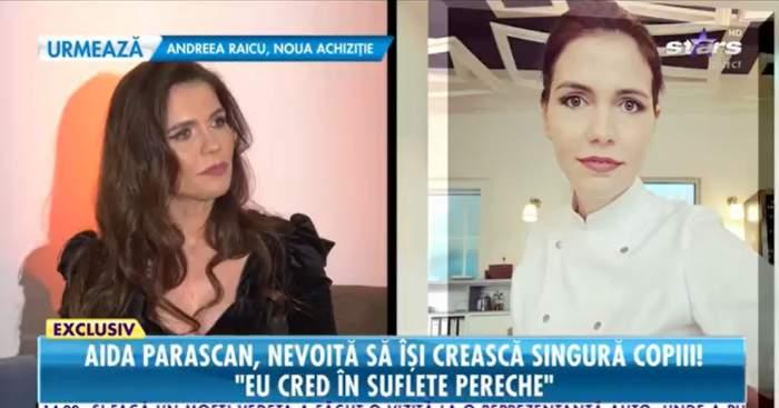 """Aida Parascan, confesiuni despre cea de-a patra sarcină, la Antena Stars! Cum se descurcă vedeta cu cheltuielile familiei: """"Stau cu chirie"""" / VIDEO"""
