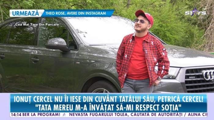 """Ce relație este între Ionuț Cercel și tatăl lui! Petrică Cercel și-a îndrumat fiul în muzică: """"La 4 ani mi-a pus acordeonul lângă mine"""" / VIDEO"""