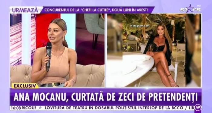 Captură video cu Ana Mocanu la Antena Stars.