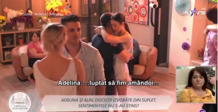 Despărțiți, dar împreună. Alin și Adelina demonstrează că dragostea învinge, la Mireasa, urzeala soacrelor / VIDEO