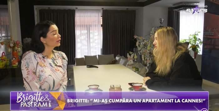 """Brigitte Sfăt, planuri mari alături de Sara. Cum se destinde vedeta în lipsa lui Florin Pastramă: """"Mă bucur de această apropiere"""" / VIDEO"""