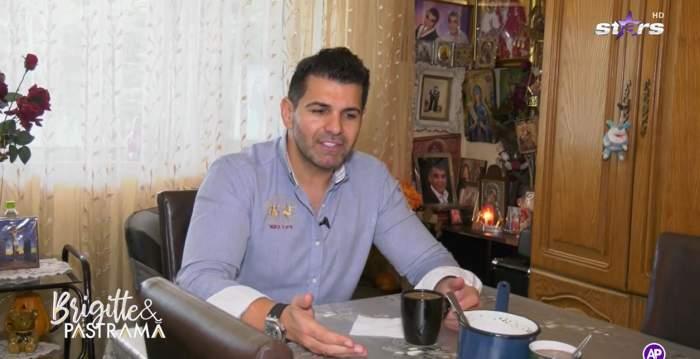 """Florin Pastramă a trecut la munca de jos de când nu mai stă cu Brigitte. Soțul vedetei și-a pregătit singur cafeaua: """"Uite ce am ajuns să fac"""" / VIDEO"""