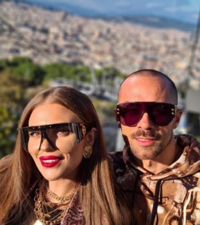 Oana și Radu, selfie.