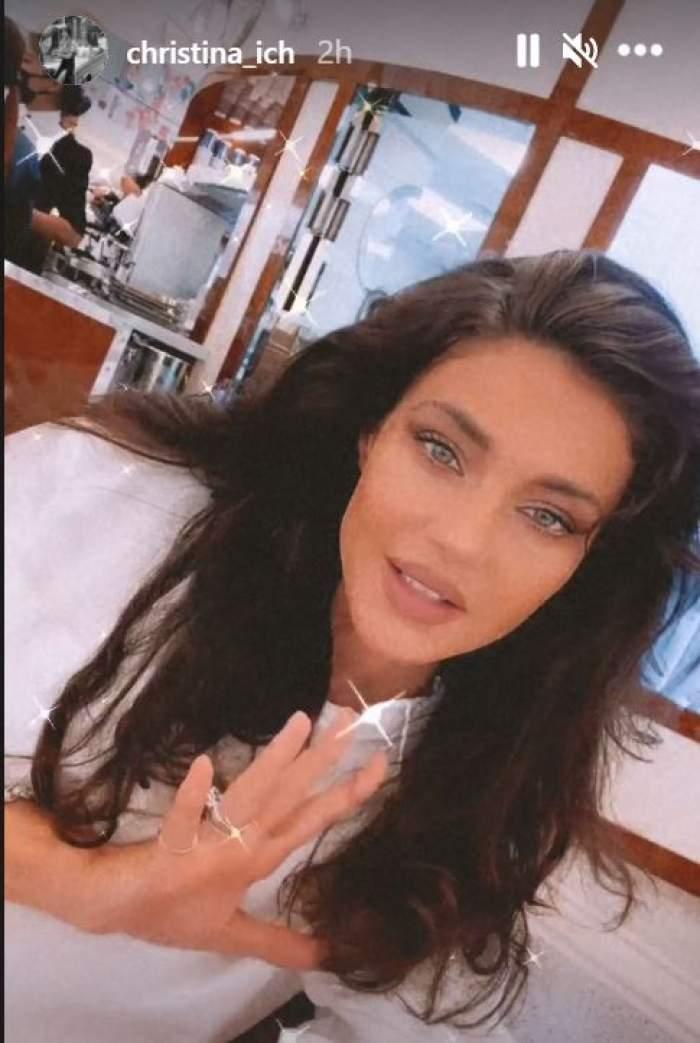 Cum este răsfățată Cristina Ich în Dubai! Alex Pițurcă îi face toate poftele / FOTO