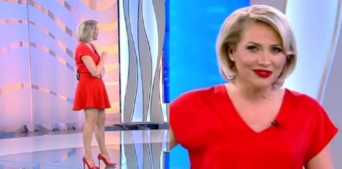 Acces Direct. Mirela Vaida, apariție spectaculoasă în platou. Ținuta prezentatoarei TV a atras toate privirile telespectatorilor / VIDEO