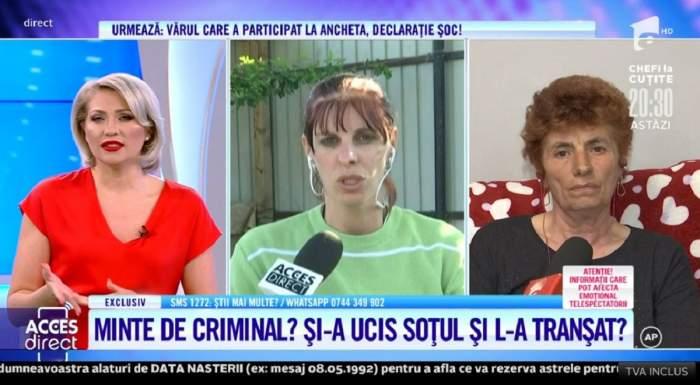 """Acces Direct. Mariana, pusă la zid de sora lui Meluță, bărbatul găsit mort, după ce și-a refăcut viața: """"Credea că are pe cineva"""" / VIDEO"""