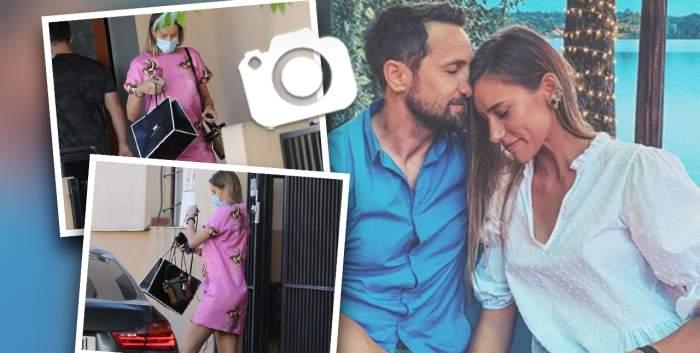 Gabriela Prisăcariu nu uită cum să fie sexy nici când este gravidă. Iubita lui Dani Oțil arată de milioane cu burtica la înaintare / PAPARAZZI