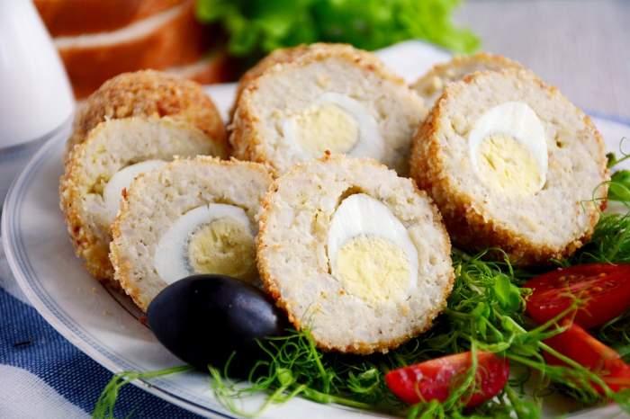 4 rețete cu ouăfierte. La ce poți folosi ouăle rămase de la Paște