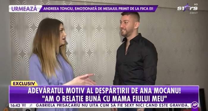 Rares a oferit un interviu la Antena Stars, la el acasa