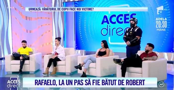 Acces Direct. S-a aflat adevărul! De ce a fost Alexandra acasă la Rafaelo, de fapt? Testul Poligraf a arătat cine a mințit
