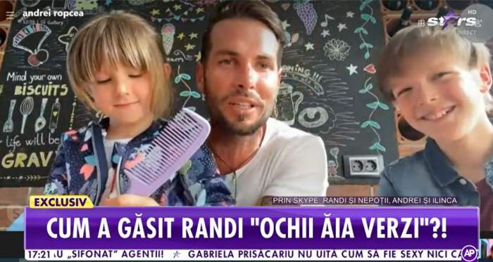 """Randi, dezvăluiri la Antena Stars despre viitorul copil! Nepoțeii artistului au dat tot din casă: """"Mai vine cu fete"""" / VIDEO"""