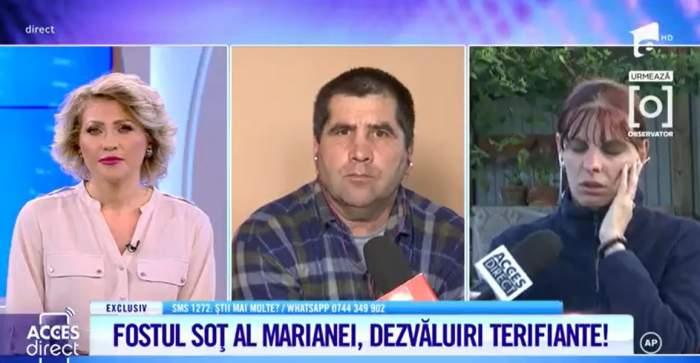 """Acces Direct. Fostul soț al Marianei intervine în cazul """"Meluță"""". Ce spune bărbatul despre femeia acuzată de crimă: """"A fost ajutată"""""""