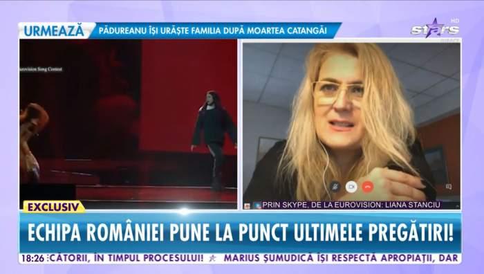 Liana Stanciu a vorbit la Antena Stars despre participarea lui Roxen la Eurovision 2021