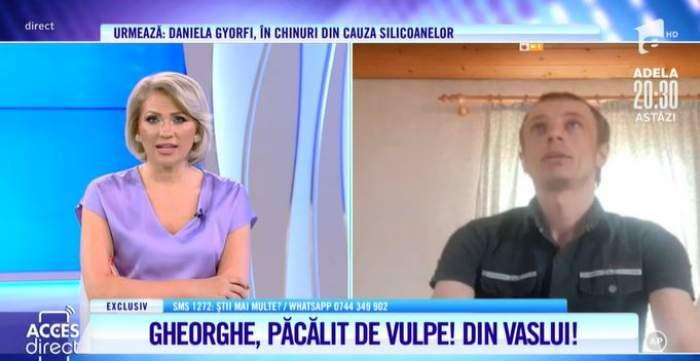 Captură video cu Gheorghe Șandruc la Acces Direct.
