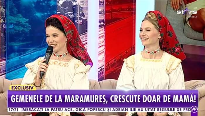 Suzana si Daciana Vlad au vorbit la Antena Stars despre moartea tatalui lor, poarta costume populare