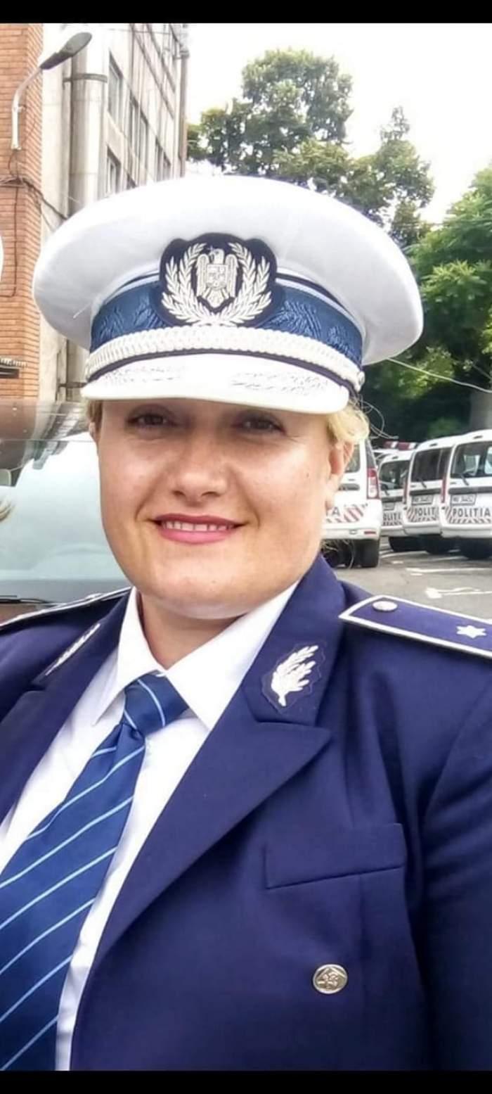 Tânără polițistă la Rutieră, răpusă de cancer la doar 41 de ani. Alexandra, mamă a doi copii, este plânsă de întregul colectiv  / FOTO
