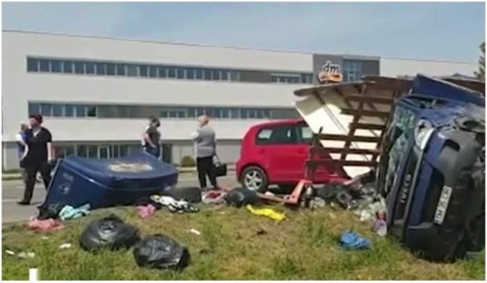 Patru oameni morți într-un accident petrecut în Brașov. Cum s-a întâmplat tragedia / FOTO