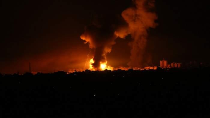 Armata din Israel a pătruns în Fâșia Gaza! Atacul se desfășoară de pe nave și avioane de vânătoare