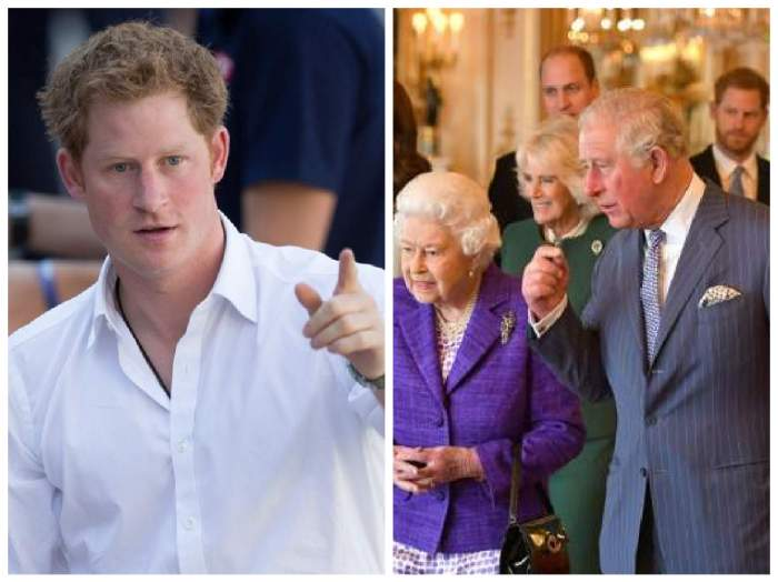 Prințul Harry, alături de Familia Regală