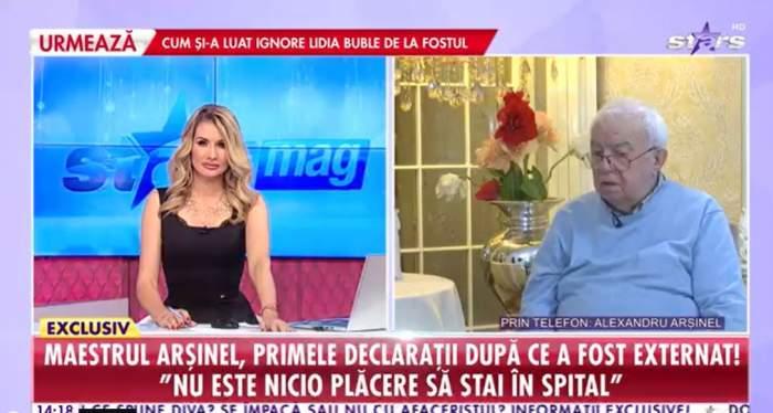 Alexandru Arsinel a vorbit la Antena Stars despre infectia cu covid-19